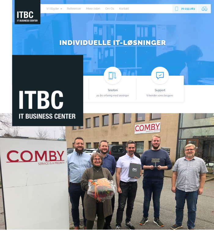 Comby opkøber ITBC