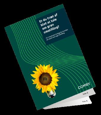 Folder om bæredygtig IT